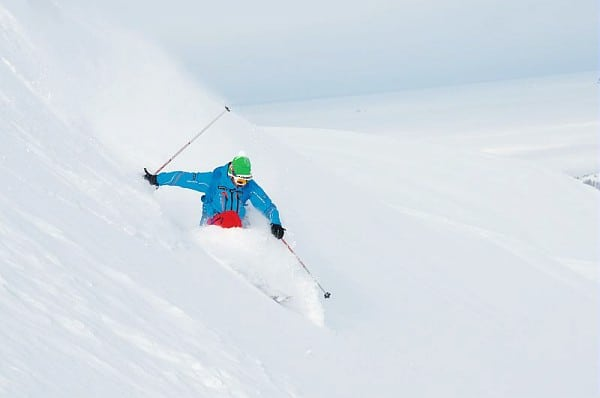 sci freeride flaine