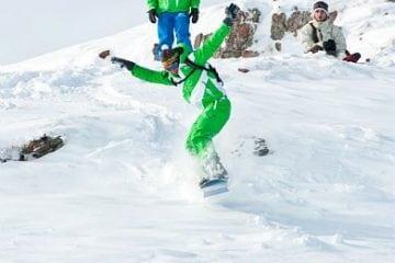 snowboard freeride flaine