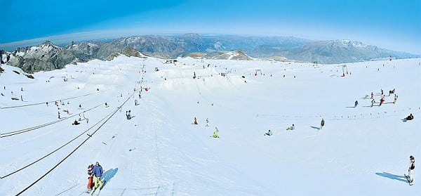 snowpark UCPA Les Deux Alpes