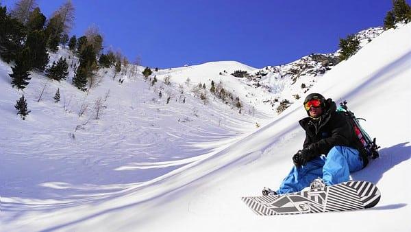 snowboard Val Thorens