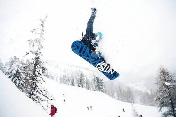 Snowboard Freeride Chamonix