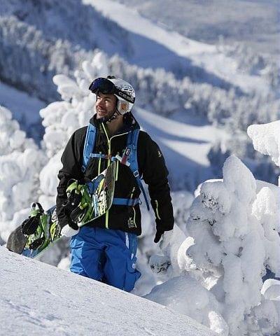 Snowboard Freeride Les Arcs