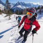 Sci freeride Chamonix