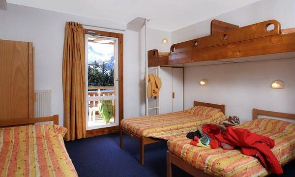 camera tradizionale UCPA Les Deux Alpes