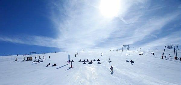 park UCPA Les Deux Alpes