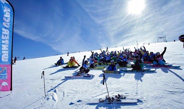 gruppo UCPA Les Deux Alpes