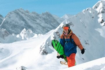 Snowboard Val d'Isere