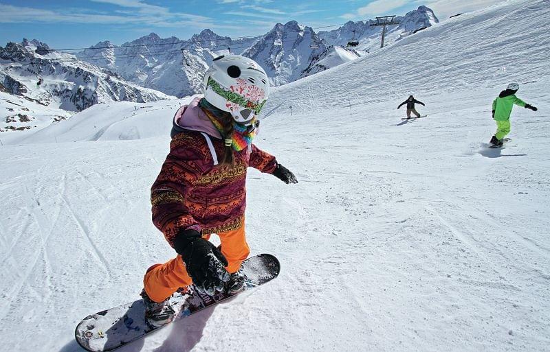 Snowboard Plagne UCPA