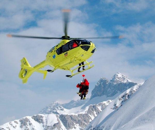 Soccorso in elicottero