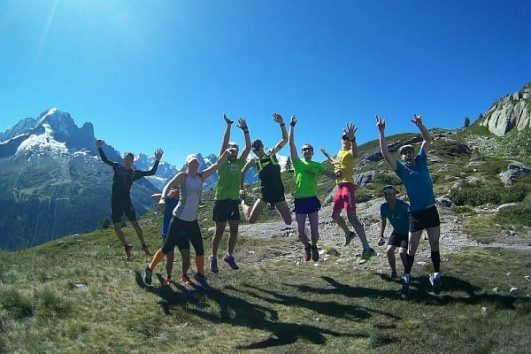 Trail Running Argentiere