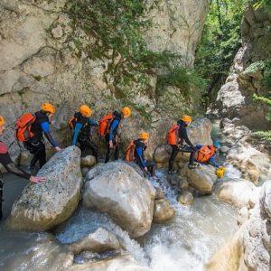 Canyoning Verdon