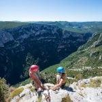 Climbing Verdon