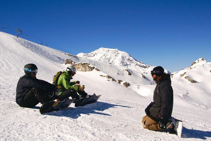 Camp snowboard UCPA